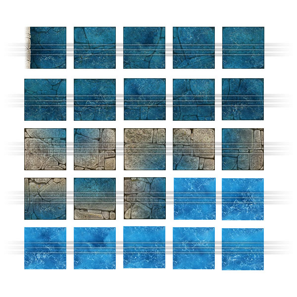 Dungeon Map Tiles - Pack #2 - Studio WyldFurr