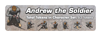 Andrew the Soldier: 63 Tokens