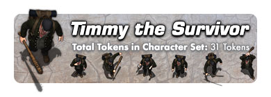 Timmy the Survivor: 59 Tokens