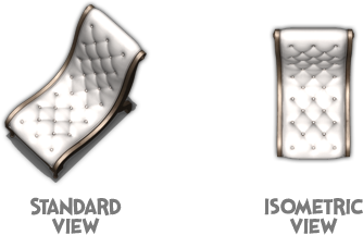 Isometric vs Standard View