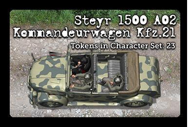 Steyr 1500 A02 Kommandeurwagen Kfz.21