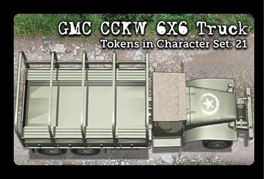 GMC CCKW 6X6 Truck