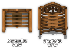 Isometric vs Standard View