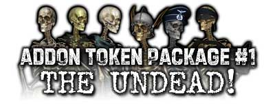 Addon Token Package #1: The Undead