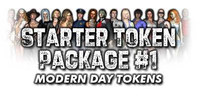 Starter Token Package #1: Modern Day Tokens