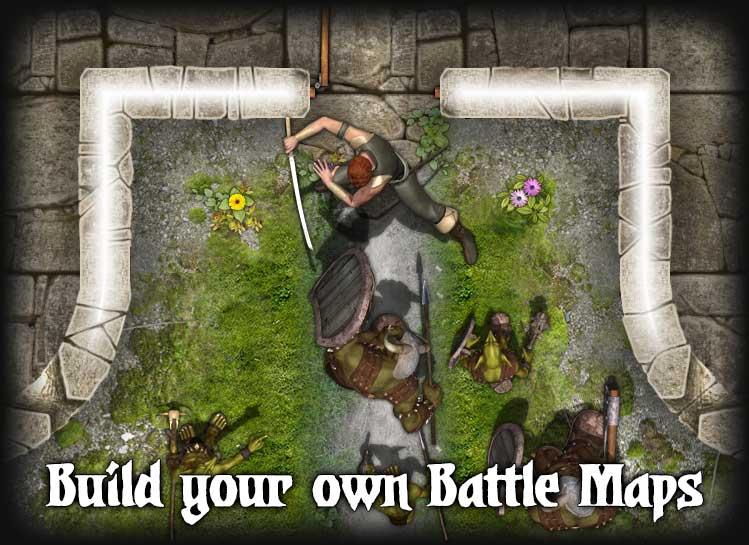 Build your own Battle Maps