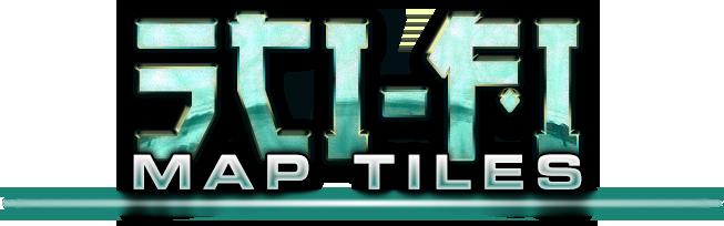 Sci-fi Map Tiles