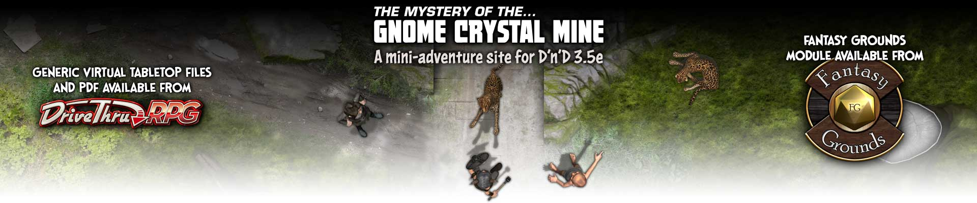 The Gnome Crystal Mine