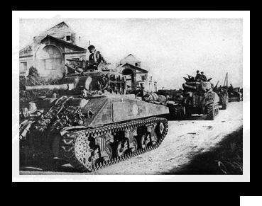 Image: Sherman Tanks