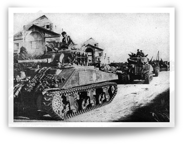Sherman Tanks