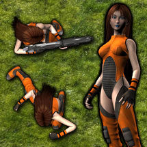 Thumb: G1 Future Combat Girl #1