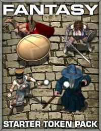 Fantasy Starter Token Pack