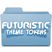 Futuristic Theme Tokens