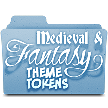 Medieval & Fantasy Theme Tokens