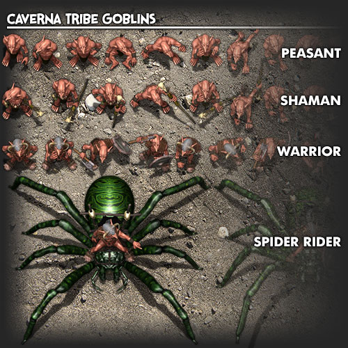 Goblin Tribes: Caverna Tribe