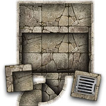 Dungeon Map Tiles - Pack 3
