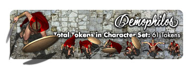 Demophilos son of Diadromes: 61 Tokens
