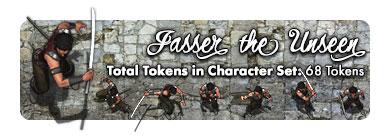 Jasser the Unseen: 68 Tokens