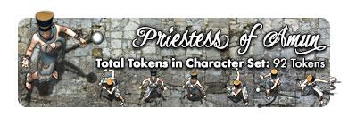 Priestess of Amun: 92 Tokens