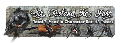 Sir Roland the Just: 55 Tokens