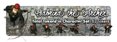 Sabrina the Archer: 62 Tokens