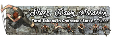 Silver Dawn Assassin: 67 Tokens