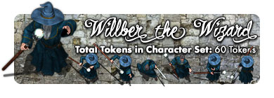 Willber the Wizard: 60 Tokens