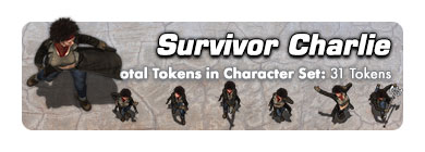 Survivor Charlie: 31 Tokens