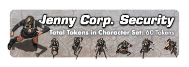 Jenny Corporate Security: 60 Tokens
