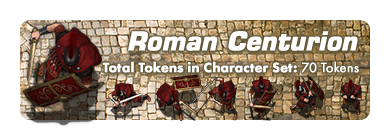 Roman Tokens Pack - Studio WyldFurr