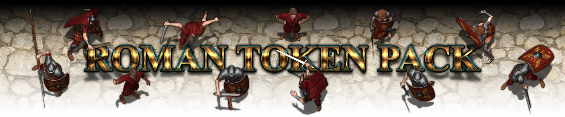 Roman Tokens Pack