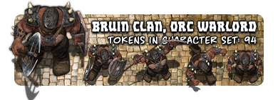 Bruin Clan, Orc Warlord