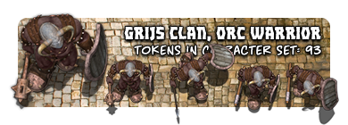 Grijs Clan, Orc warrior