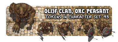 Olijf Clan, Orc Peasant