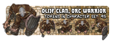 Olijf Clan, Orc Warrior