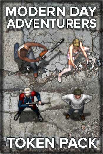 Modern Day Adventurers Token Pack