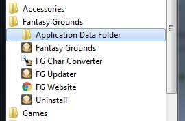 Fantasy Grounds Data Folder
