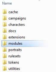 Put the .mod file into the Modules folder.