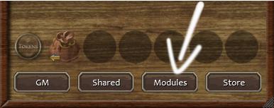 Click the Modules Button
