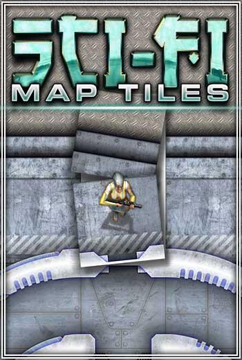 Sci-fi Map Tiles Set
