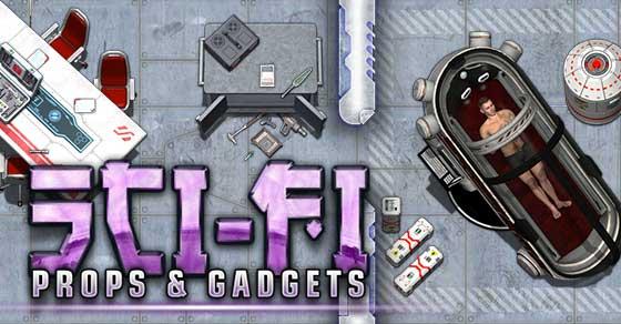 Sci-fi Props & Gadget Tokens - Studio WyldFurr