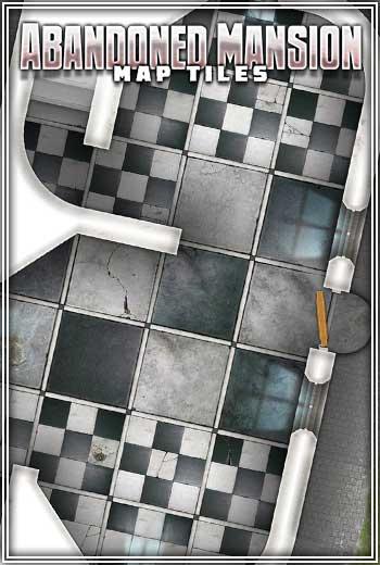 Abandoned Mansion Map Tiles