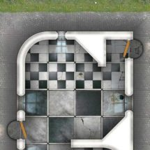 Abandoned Mansion Map Tiles Sample