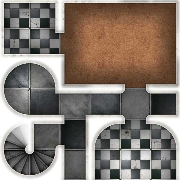 Abandoned Mansion Map Tiles Sample