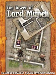 The Tower of Lord Munch - Sample Page #1