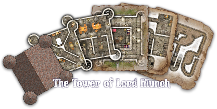 The Tower of Lord Munch Maps