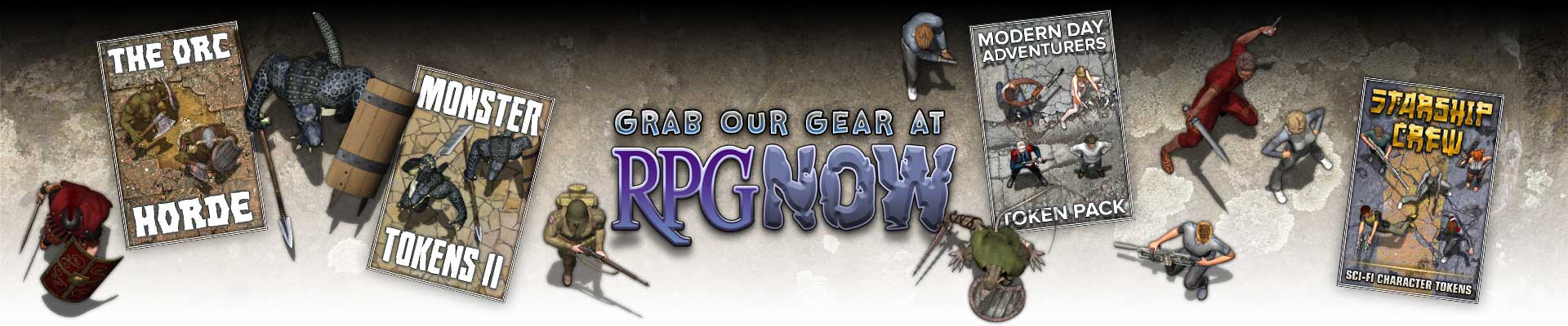 Grab our gear at RPGnow.com
