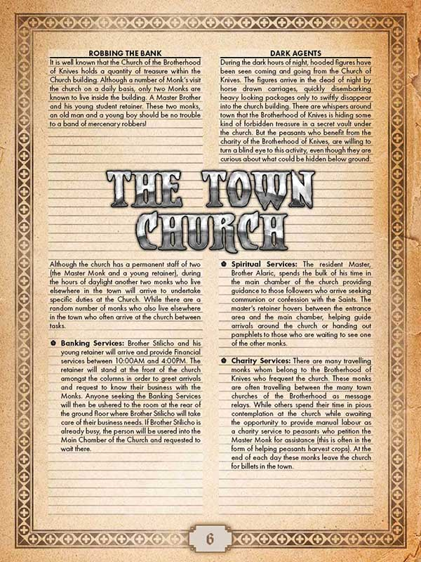 Town Church (Church of Knives) Page #6