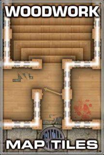 Woodwork Map Tiles