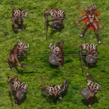 Evil Satyr - Monster Token Set